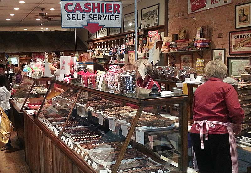 Old Fashioned Candy Store In Lexington Nc