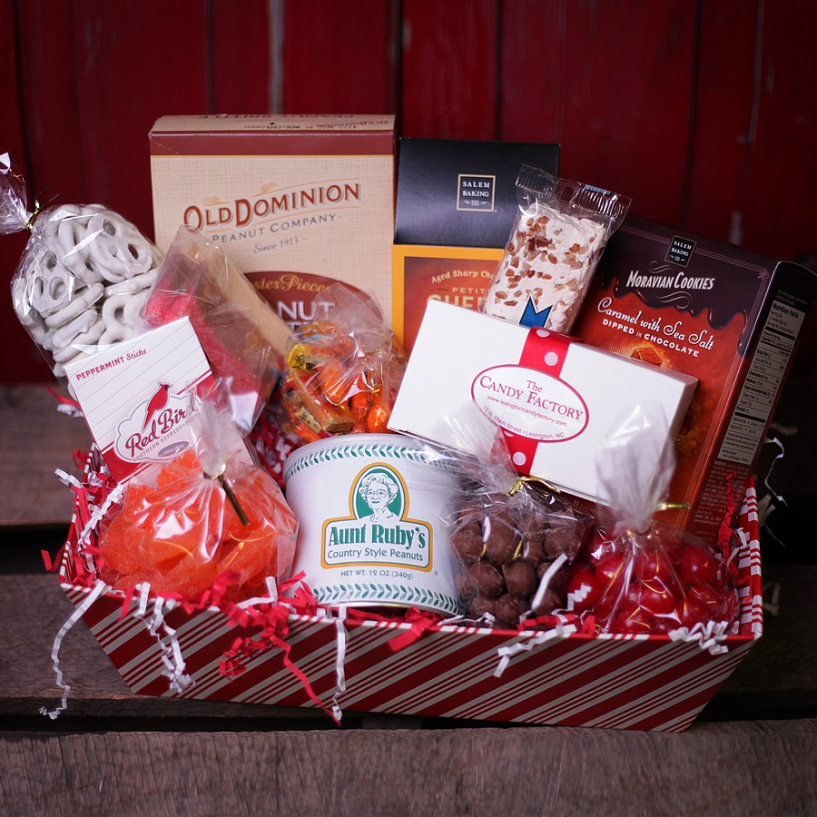 Gift Basket Medium - Lexington Candy Factory